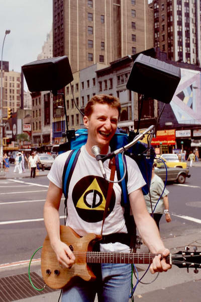 Billy Bragg in New York City