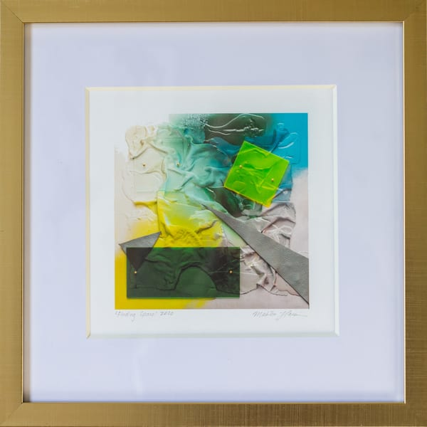 Finding Space (Framed Print) Art | Makiko Harris Art