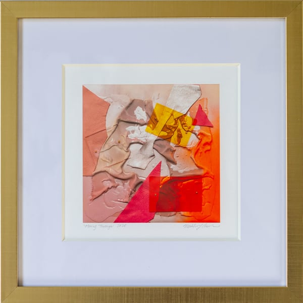Moving Through (Framed Print) Art | Makiko Harris Art