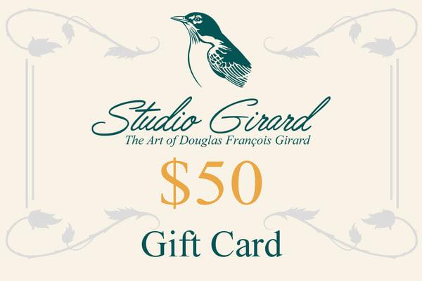 $50 Gift Card | Studio Girard