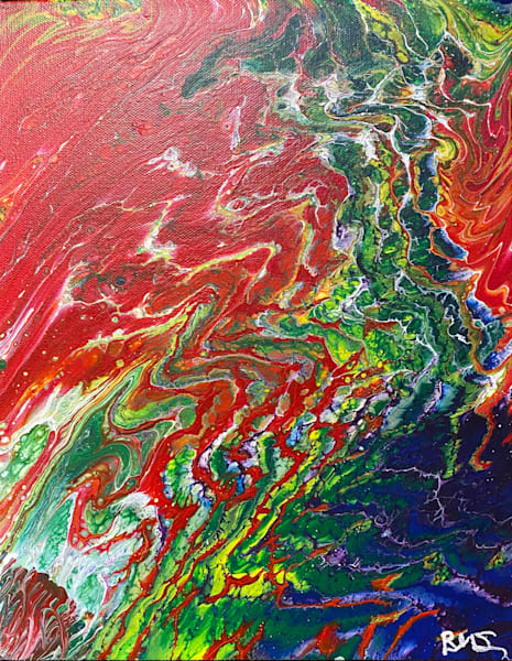 Red Rapture Art | Abstraction Gallery by Brenden