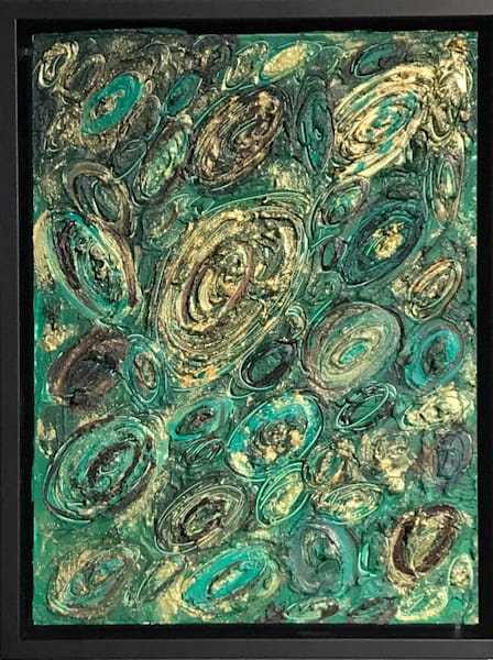 Malachite Mini Art | Abstraction Gallery by Brenden