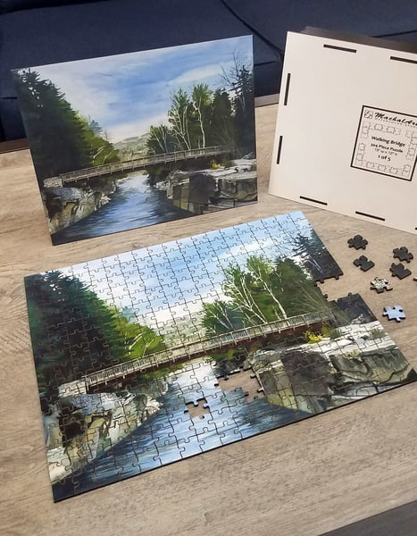Walking Bridge - Puzzle