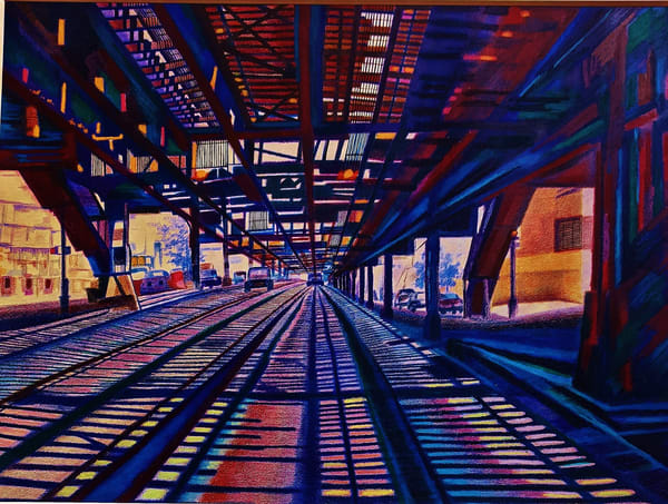 Under The 215 Th St Station In Nyc   lencicio