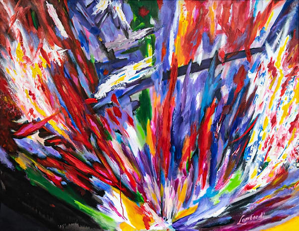 United States, fine art, art, oil, acrylic, abstract, color, bold