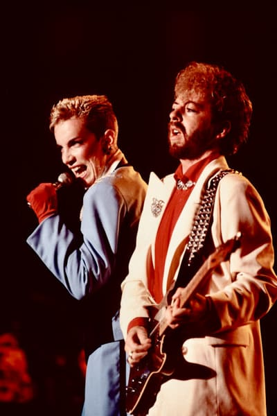 Annie Lennox & Dave Stewart of Eurythmics