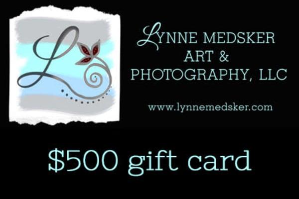$500 Gift Card | Lynne Medsker Art & Photography, LLC