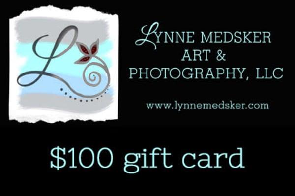 $100 Gift Card | Lynne Medsker Art & Photography, LLC
