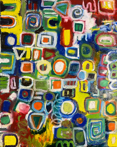 Shapes And Sizes Art | Abstraction Gallery by Brenden