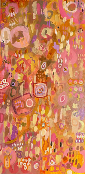 Pink Cadillac  Art | Abstraction Gallery by Brenden