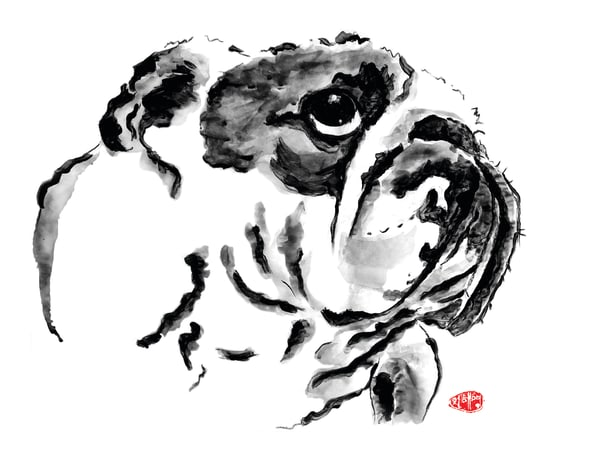Groot: Bulldog Art | Youngi-Sumistyle pets