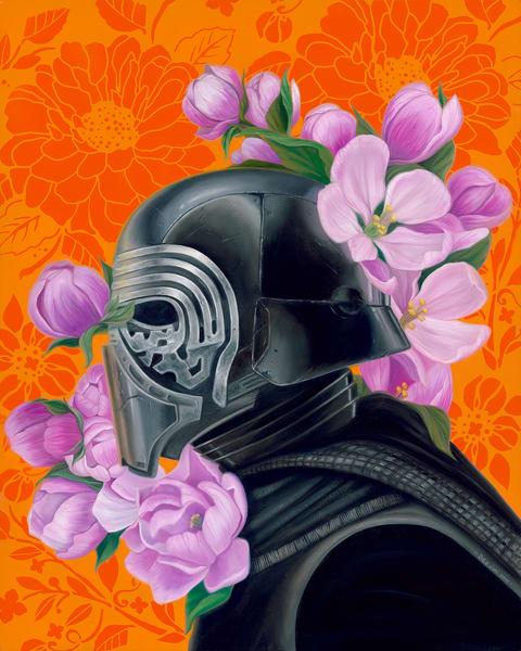 Kylo Ren Art | War'Hous Visual Art Studio