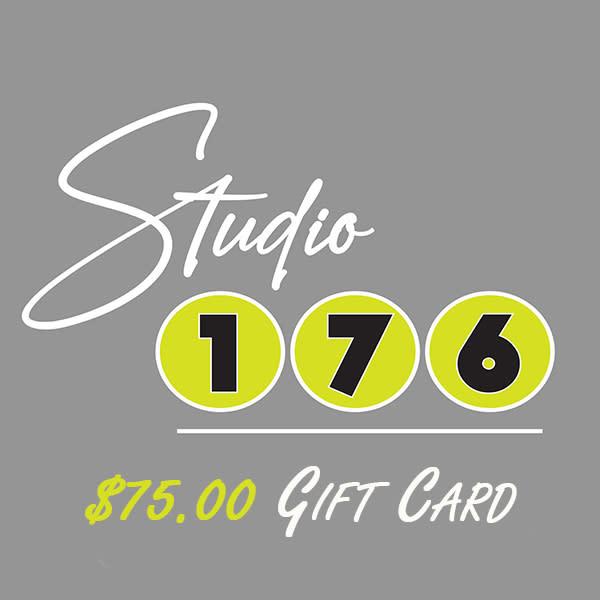 $75 Gift Card   studio176