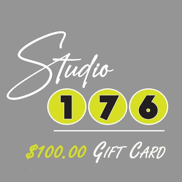 $100 Gift Card   studio176