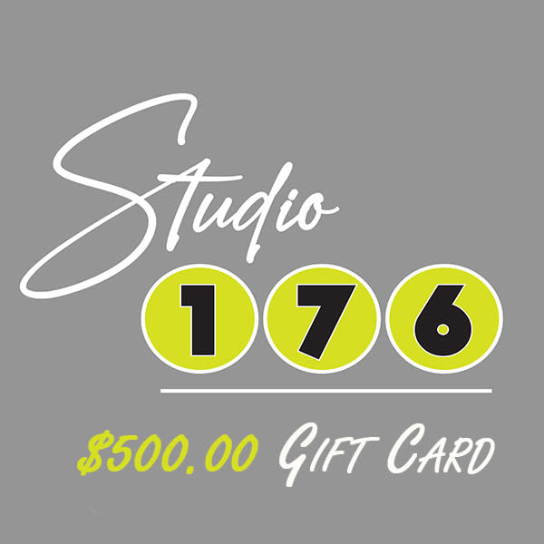 $500 Gift Card   studio176
