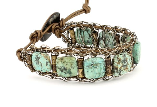 Turquoise Bracelet  |  Studio Jere