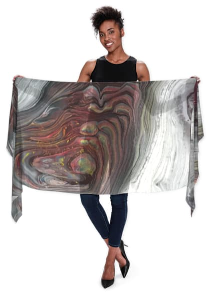 Agate Scarf  | Abstraction Gallery by Brenden