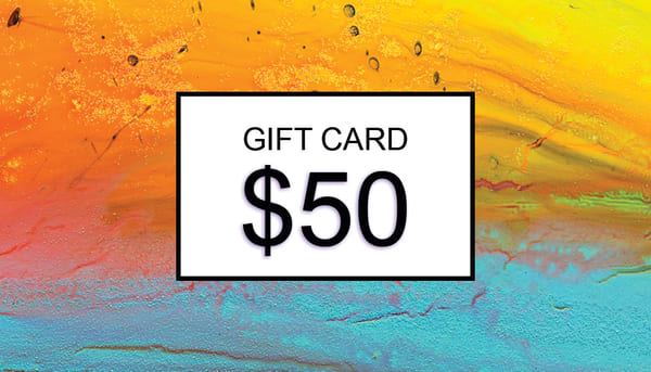 $50 Gift Card | Cesar Rodrigues fine art