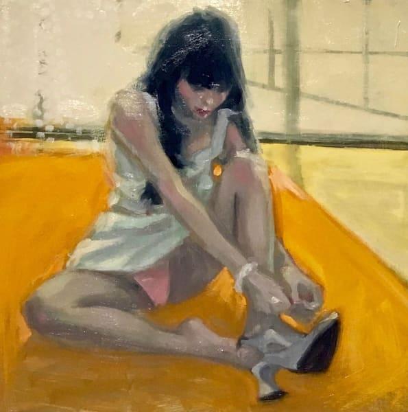 Tying My Shoes Art | sheldongreenberg