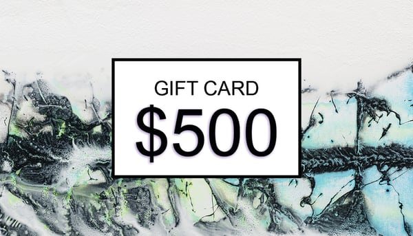 $500 Gift Card | Cesar Rodrigues fine art