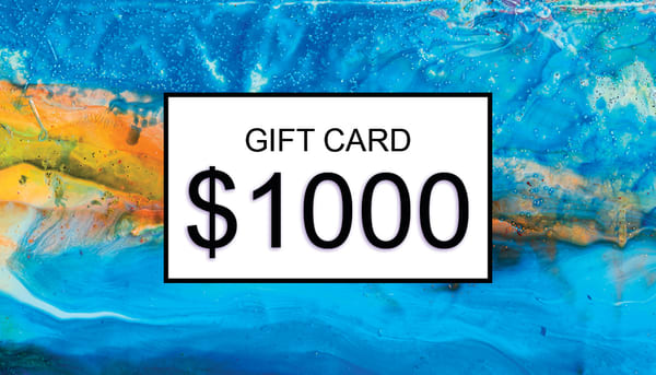 $1000 Gift Card | Cesar Rodrigues fine art