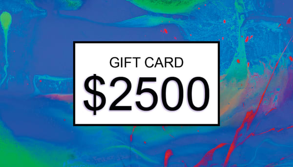 $2500 Gift Card | Cesar Rodrigues fine art