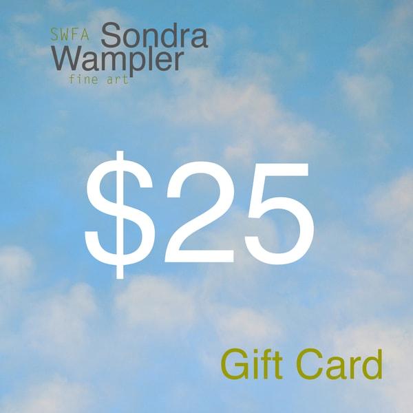$25 Gift Card | Sondra Wampler | fine art