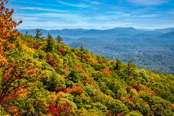Smoky Mountains Autumn 2 Photography Art | Grace Fine Art Photography by Beth Sheridan