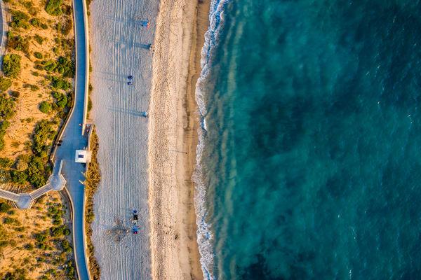 Carlsbad Cali Sky View Photography Art | Vitamin Sea Photography