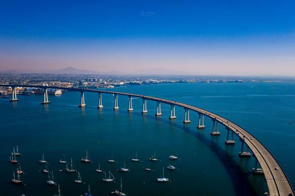 Coronado Bridge Photography Art | Vitamin Sea Photography