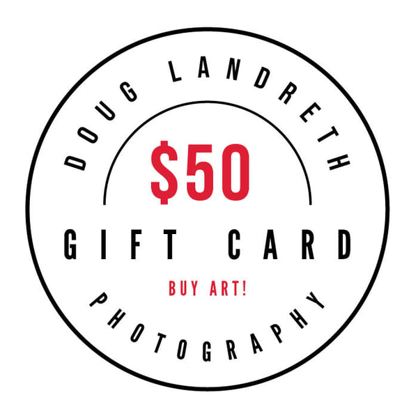 $50 Gift Card | Doug Landreth Photography