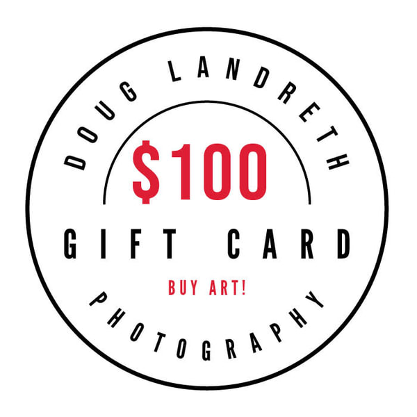 $100 Gift Card | Doug Landreth Photography