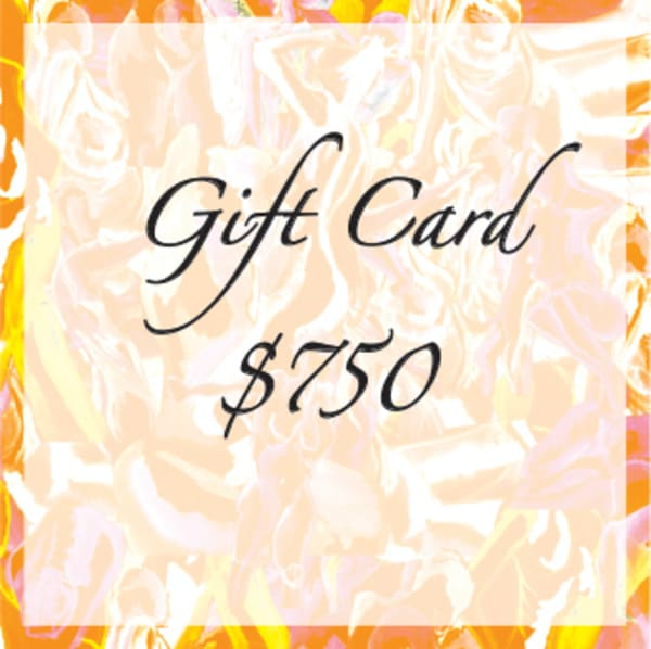 $750 Gift Card | Susan Searway Art & Design