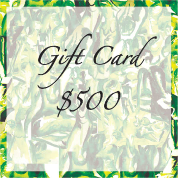 $500 Gift Card | Susan Searway Art & Design