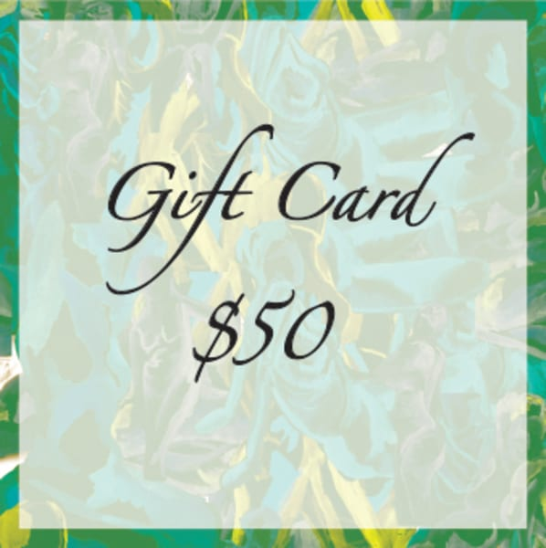 $50 Gift Card | Susan Searway Art & Design