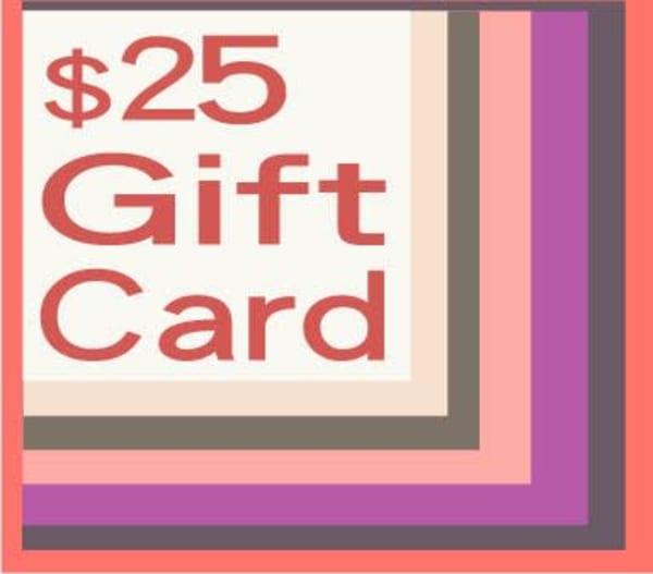 $25 Gift Card | Artofandrewdaniel