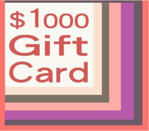 $1000 Gift Card | Artofandrewdaniel