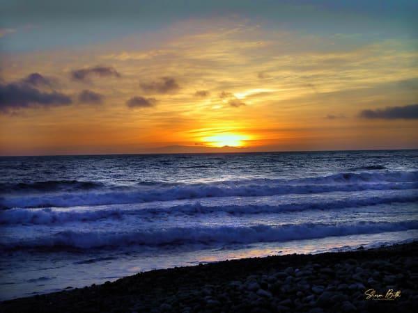 California Beach Sunset Art | Sharon Beth