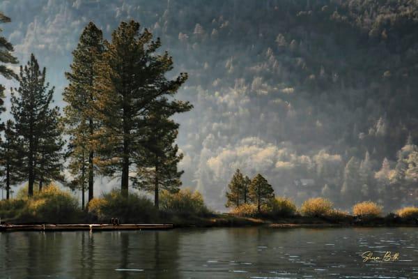 Big Bear Lake Mist Art | Sharon Beth