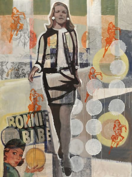 Bonnie Babe is a painting of woman power