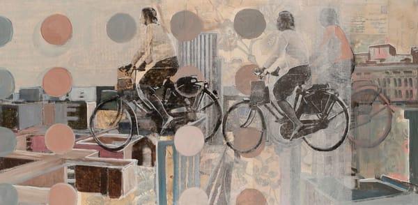 She's On The Move Art | memoryartgirl