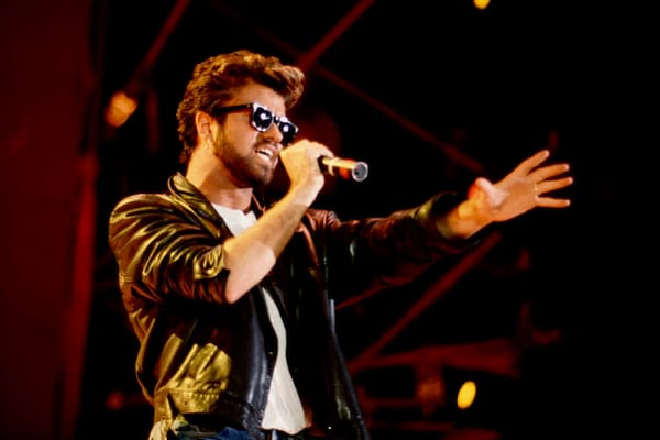 George Michael at Live Aid