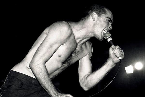 Henry Rollins of Black Flag