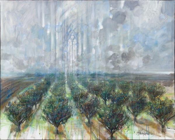 Orchard Rain Art | Freiman Stoltzfus Gallery