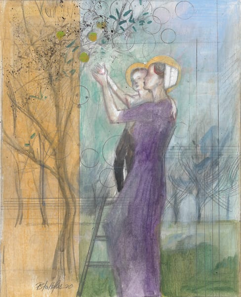 Lady Of The Orchard Art | Freiman Stoltzfus Gallery