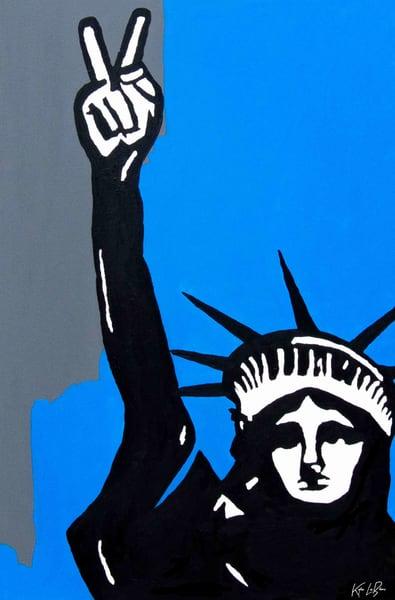 Peace Liberty by Kyle LeBlanc