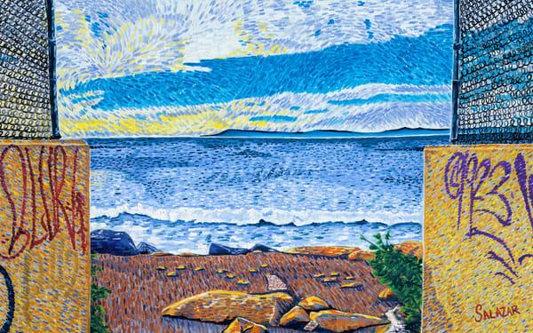 Ventura Beach Access Art | War'Hous Visual Art Studio