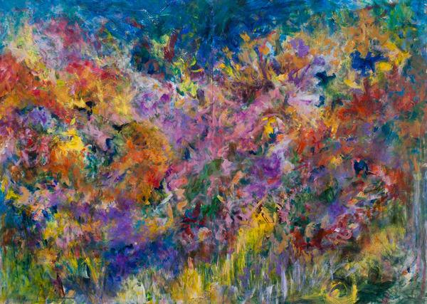 """Flowers At Dawn"" Original Art   Daniel Kanow Fine Art"