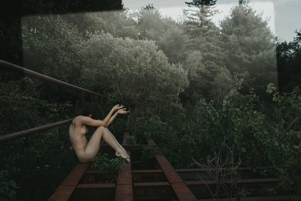 Pensive Kyoto Photography Art | LenaDi Photography LLC