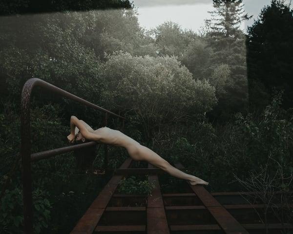 Stretching With Kyoto Photography Art | LenaDi Photography LLC